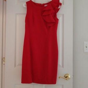 Calvin Klein Red Dress